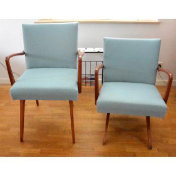Paire de chaises / fauteuils