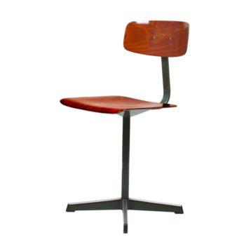 Set de 6 chaises industrielles (A)