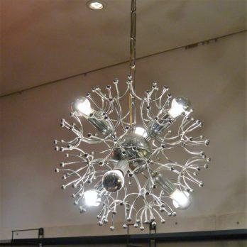 Luminaire Spoutnik (à aigrettes)