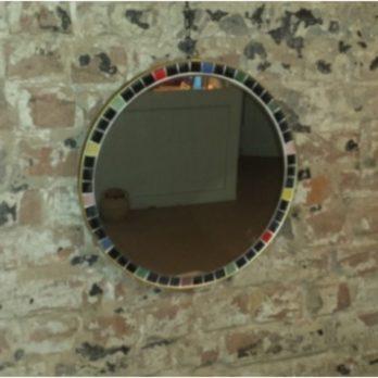 Miroir circulaire (mosaïques)