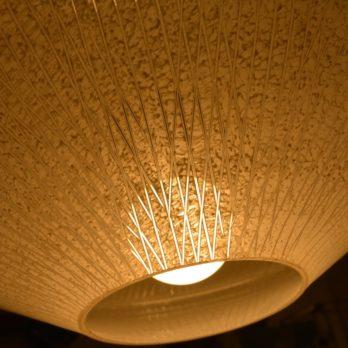 Grand luminaire à 3 opalines