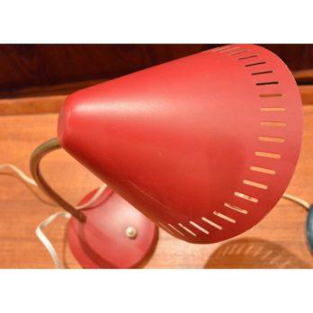 Petite lampe 50's rouge