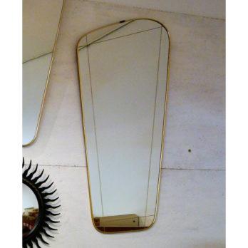 Miroir (gravé) forme libre
