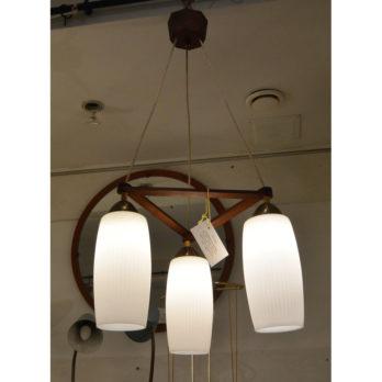 Luminaire à 3 opalines