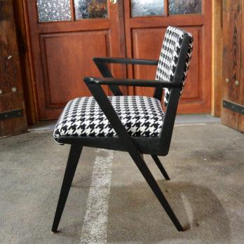 Chaise de bureau pied de coq